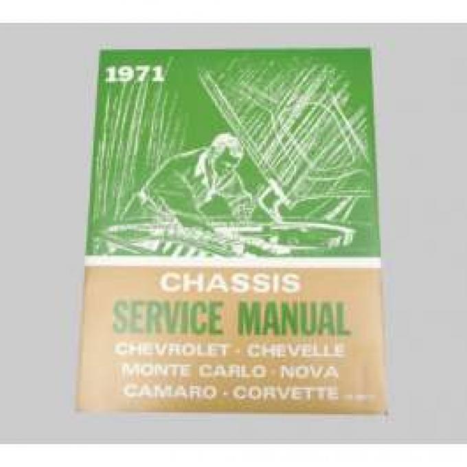 Chevelle Literature, Shop Manual, 1971