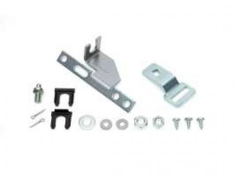 Chevelle Shifter Conversion Kit, Powerglide To TH350 & TH400 Transmission, Without Indicator Lens, 1968-1972