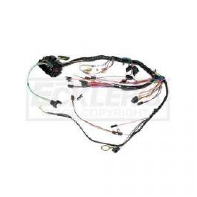 Chevelle Dash Wiring Harness, Main, For Cars With Standard Sweep Dash, 1970