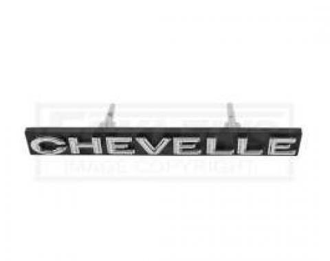Chevelle Grille Emblem, Chevelle, 1972