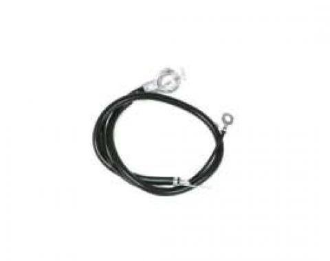 Chevelle Battery Cable, Spring Ring, Negative, Big Block, 1968