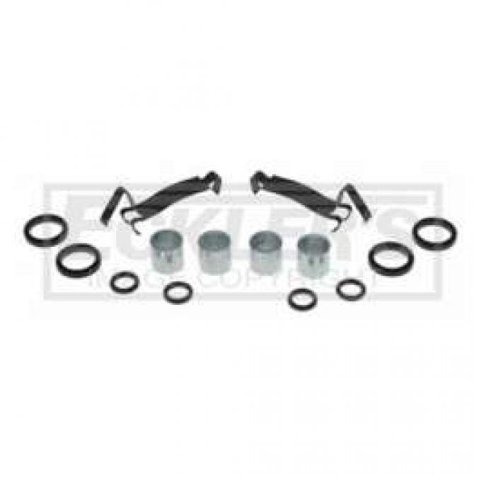 Chevelle And Malibu AC Delco, Disc Brake Hardware Kit, 1969-1977