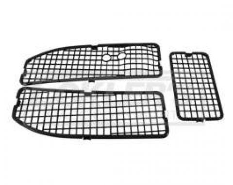 Chevelle Cowl Screens, For Cars Without Air Conditioning, 1968-1972