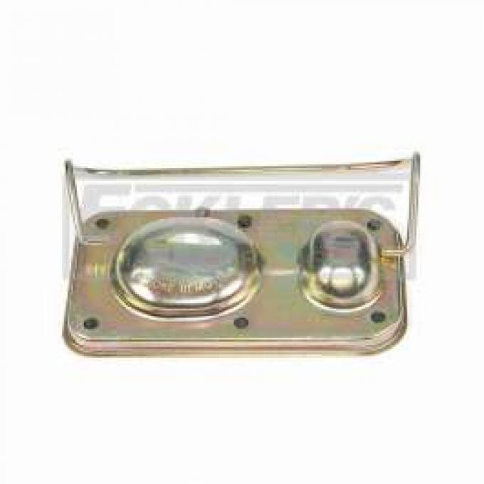 Chevelle Brake Master Cylinder Cover, With Power Disc Brakes, 1970-1972