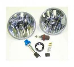 Chevelle Headlight Conversion Kit, Halogen, With Composite Housings, 1971-1975