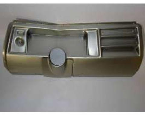 Chevelle Instrument Cluster Panel, Aluminum Finish, Without Pre-Cut Holes, 1969