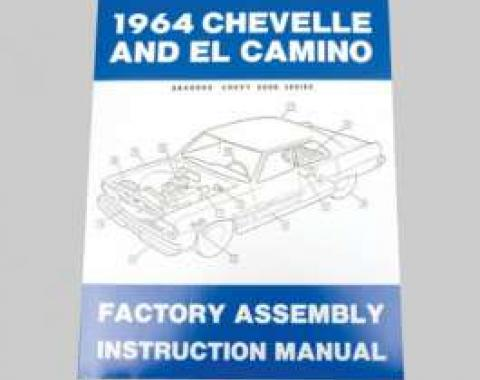 Chevelle Assembly Manual, 1964