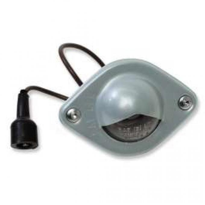 Chevelle License Plate Light Assembly, Left Or Right, 1964-1965