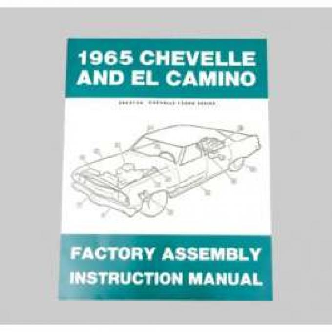 Chevelle Assembly Manual, 1965