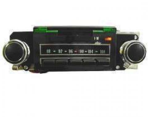 Chevelle Radio, AM/FM, Reproduction, 1969