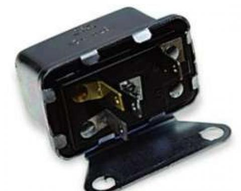 Chevelle Blower Motor Relay, With Air Conditioning, 1964-1968