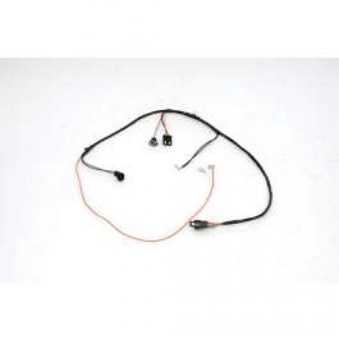 Chevelle Center Console Wiring Harness, For Cars With Automatic Transmission, 1966