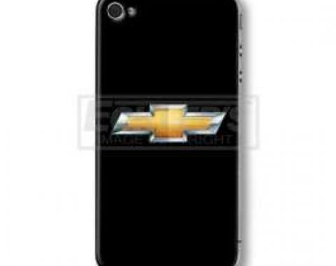 iPhone 4 & 4S Skin Cover With Chevy Bowtie Theme