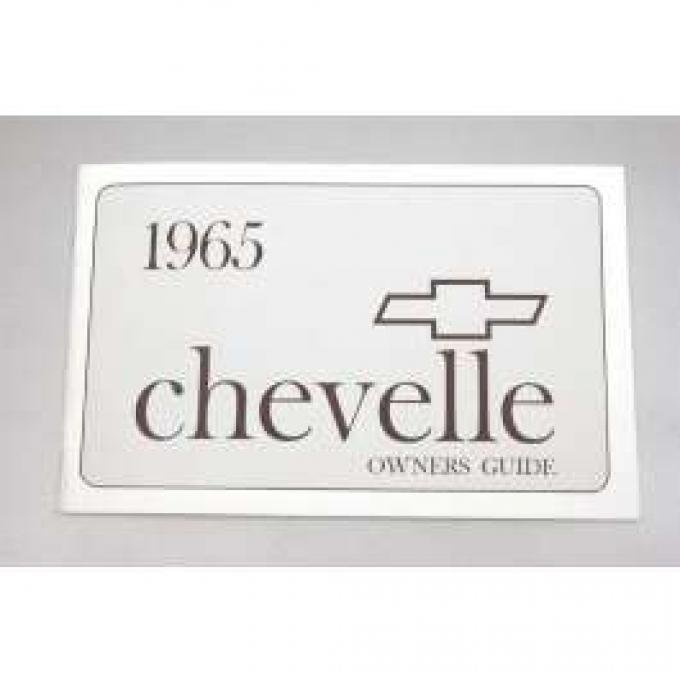 Chevelle Owner's Manual, 1965