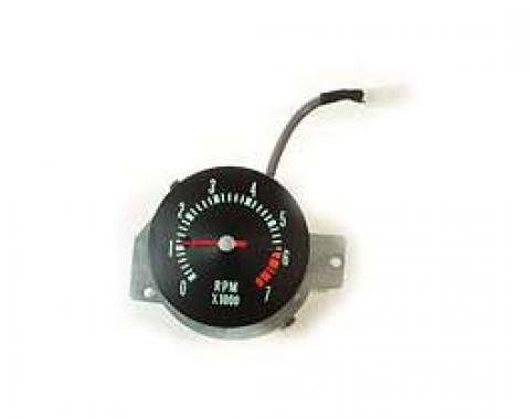 Chevelle Tachometer, 7000 RPM, In-Dash Clock Conversion, 1968