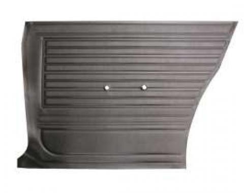 Legendary Chevelle Rear Side Panels, Coupe, Show Correct, Black, 1967