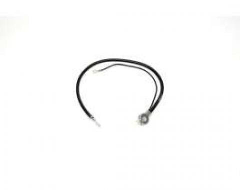 Chevelle Battery Cable, Spring Ring, Negative, Small Block,1969