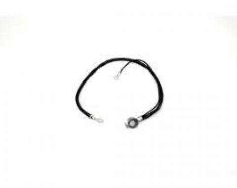 Chevelle Battery Cable, Spring Ring, Negative, 6 Cylinder, 1966