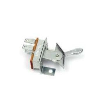 Chevelle Heater Control Panel Switch, Blower Motor Fan Speed, For Cars Without Air Conditioning, 1970-1972