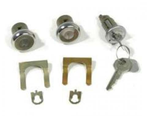 Chevelle Ignition & Door Lock Sets, With Keys, 1968