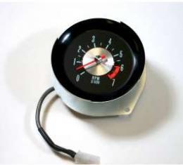 Chevelle Tachometer, 7000 RPM, In-Dash Clock Conversion, 1964-1965