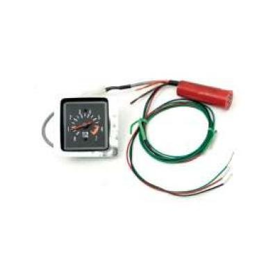 Chevelle Tachometer, 7000 RPM, In-Dash Clock Conversion, For Cars With Sweep Style Dash, 1971-1972