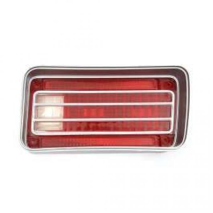 Chevelle Taillight Lens, Except Wagon, Malibu, Original, Right, 1970