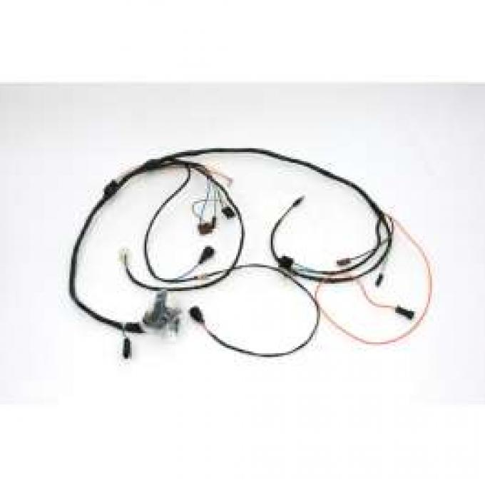 Chevelle Engine Wiring Harness, Big Block, For Cars With Turbo Hydra-Matic TH400 Automatic Transmission, 1971