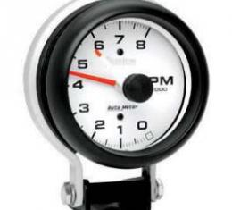 Chevelle Tachometer, Pedestal Mount, 8,000 RPM, Phantom Series, AutoMeter, 1964-1972