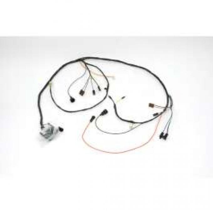 Chevelle Engine Wiring Harness, Small Block, For Cars With Automatic Transmission Except Turbo Hydra-Matic TH400,1971