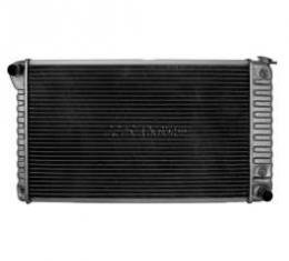 Chevelle Radiator, Small Block, 4-Row, 28 Core, For Cars With Automatic Transmission & With Or Without Air Conditioning, Desert Cooler, U.S. Radiator, 1968-1971