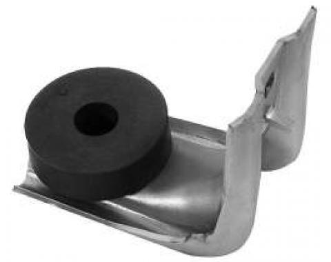 Chevelle Door Glass Channel Support, Front, With Bumper, 1970-1972