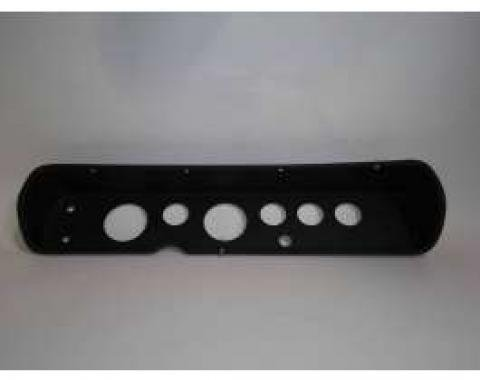 Chevelle Instrument Cluster Panel, Black Finish, With Pre-Cut Holes, 1964-1965