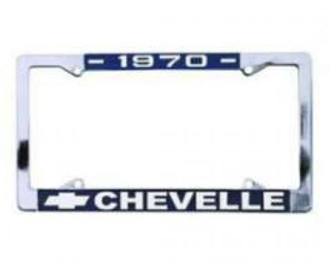 Chevelle License Plate Frames, 1972