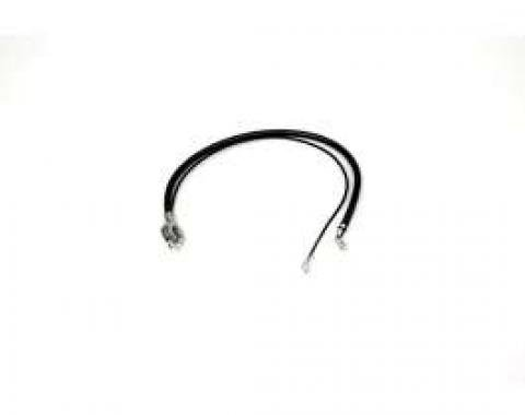 Chevelle Battery Cable, Spring Ring, Negative, 6 Cylinder, 1968