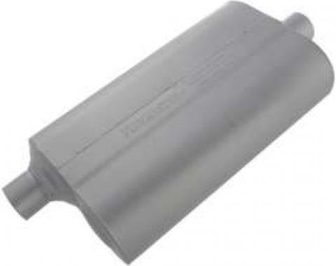 Chevelle Muffler, 2.50, Center/Center, 50 Series Performance, Flowmaster, 1964-1972