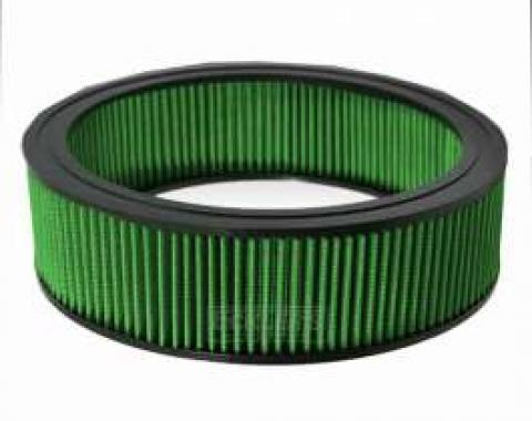 Chevelle Green Air Filter, Small Block, 1969-1980