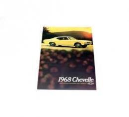 Chevelle Literature, Color Sales Brochure, 1968