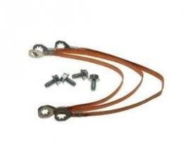 Chevelle Ground Wire Strap Kit, Small Or Big Block, 1968