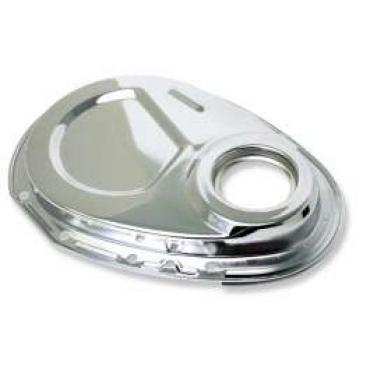 Chevelle Timing Chain Cover, Small Block, Unplated Steel, 1969-1972