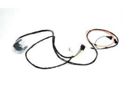 Chevelle Engine Wiring Harness, 6 Cylinder, For Cars With Warning Lights & Without Idle Stop Solenoid, 1968-1969