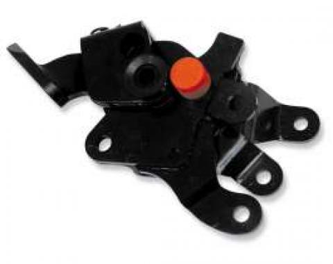 Chevelle Floor Shifter Assembly, Manual Transmission, Muncie 4-Speed, Without Linkage, 1968-1972
