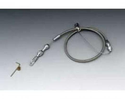 Chevelle Throttle Cable Assembly, Tuned Port Fuel Injection, Hi-Tech, Lokar, 1964-1972