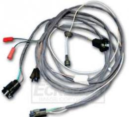 Chevelle Rear Body Wiring Harness, 2-Door Sedan & Coupe, For Cars With Back-Up Lights, 1965