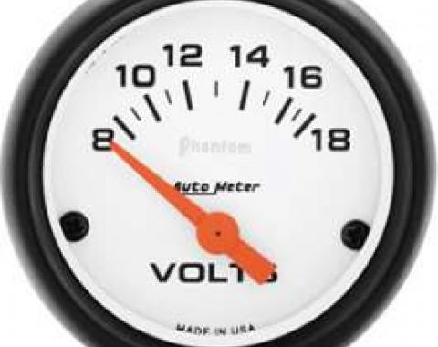 Chevelle Voltmeter, Phantom Series, AutoMeter, 1964-1972