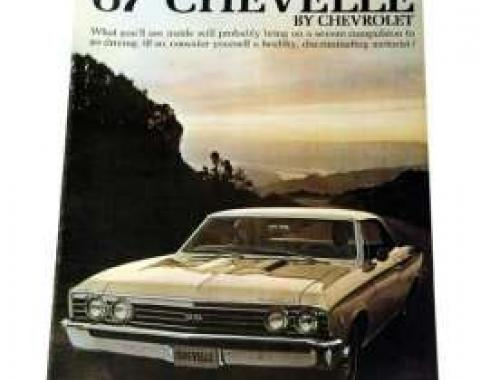 Chevelle Literature, Color Sales Brochure, 1967