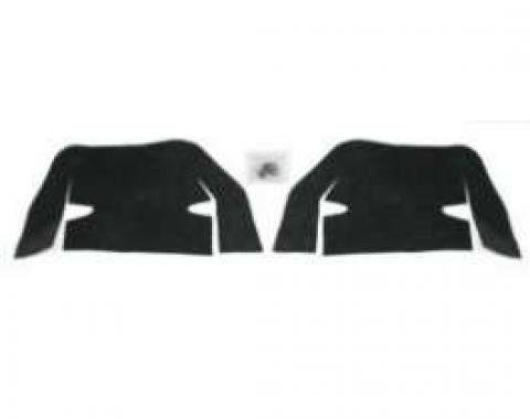Chevelle Control Arm Dust Shields, 1964-1965