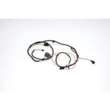 Chevelle Engine Wiring Harness, Small Block, For Cars With Warning Lights, 1965-1966
