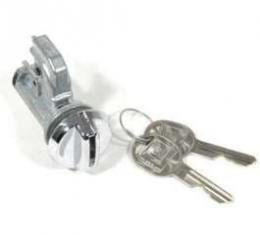 Chevelle Glove Box Lock Set, With Late Style Keys, 1970-1977
