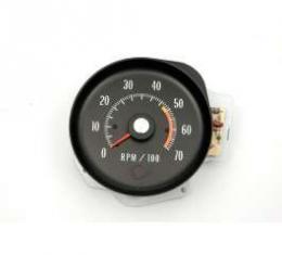 Chevelle Tachometer, 5000 RPM Redline, 1971-1972